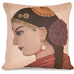 India Girl Pillow
