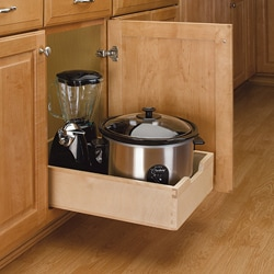 Medium Wood Pull-out Cabinet Drawer