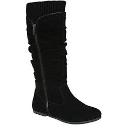 Story Women's 'Parker-2' Flat Bottom Mid-calf Boots
