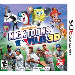 Nin3DS - Nicktoons Mlb 3D