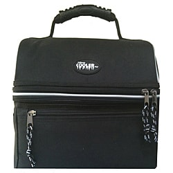 California Cooler Deluxe Black Lunch Cooler Bag
