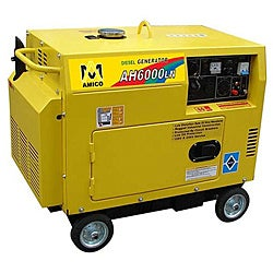 Amico 6000 Watt Diesel Generator With Electric Start