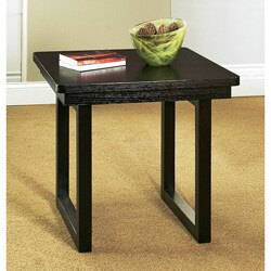 Abbyson Living Hampton Espresso End Table