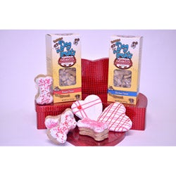 Foppers Gourmet 'True Love' 158-Piece Dog Treat Valentine Gift Set
