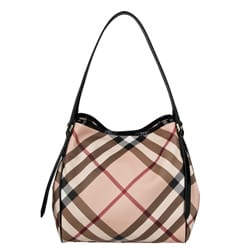 Burberry Small Nova Check Tote Bag