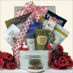 Gone Fishing!: Valentine's Day Fishing Gift Basket