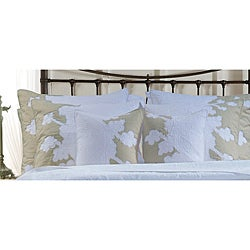 Audrey Floral Cotton King-size Shams (Set of 2)