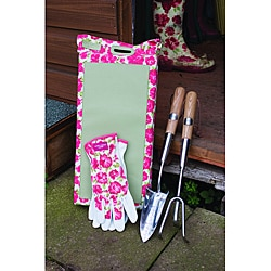 Laura Ashley Four-piece Long Handled Garden Tool Set