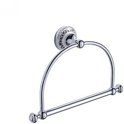 Kraus Apollo Bathroom Accessories- Towel Ring Chrome