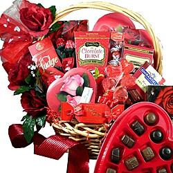 Art of Appreciation My Chocolate Valentine Premium Gourmet Food Gift Basket
