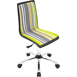Printed Stripes Computer Chair