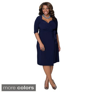 Kiyonna Women's Sweetheart Plus-size Cocktail Dress
