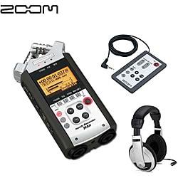 Zoom H4N Handy Handheld Musicians Audio Recorder Kit