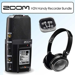 Zoom H2N Handy Recorder Digital Recording Kit