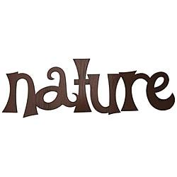 Metal Nature Wall Word Art 14072606 Overstock Com