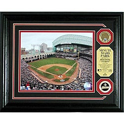 Highland Mint Houston Astros Minute Maid Park Infield Dirt Photo Mint