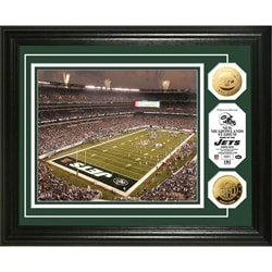 New York Jets Jets Stadium 24k Gold Coin Photo Mint