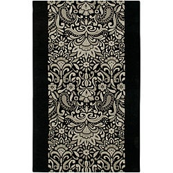 Hand-tufted Averlo Black Area Rug (9' x 12')