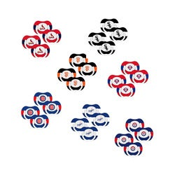 MLB Pacifier Set (Pack of 4)