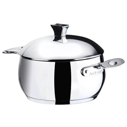 Art & Cuisine Chaudron 5.7-quart Stainless Steel Pot with Lid