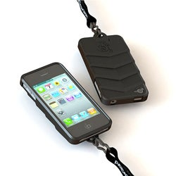 TEKBoot Apple iPhone 4/4S Black Protector Case
