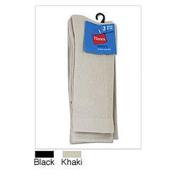 Hanes Men&#39;s Casual Crew Socks (Pack of 3)