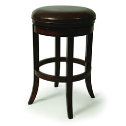 Timberview 30-inch Backless Swivel Bar Stool