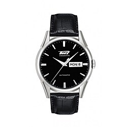 Tissot Men's 'Heritage Visodate' Black Automatic Watch