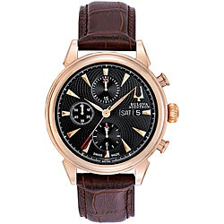 Bulova Accutron Men's 'Gemini' Mechanical Chronograph Watch