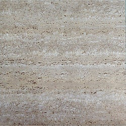 Self-adhesive Travatine 60 Square Feet Marble Look Vinyl Floor Tiles