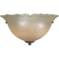 Aztec Lighting Transitional 2-light Antique Bronze Wall Sconce