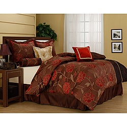 'Iris' Luxury 7-piece Comforter Set
