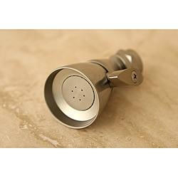 Satin Nickel Solid Brass Adjustable Shower Head
