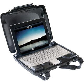 Pelican HardBack i1075 Carrying Case for iPad - Black