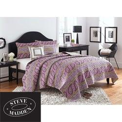 Steve Madden 'Morgan' Twin-size Quilt