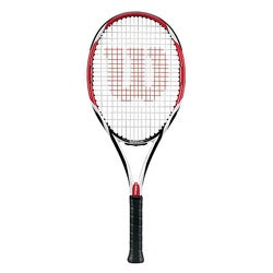 Wilson [K] Factor Bold Red, Black, and White Graphite Tennis Racquet