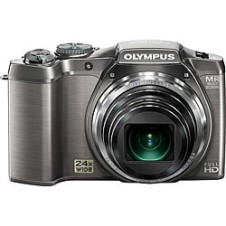 Olympus SZ-31MR iHS 16MP Silver Digital Camera