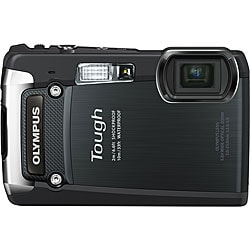 Olympus Tough TG-820 iHS 12 Megapixel Compact Camera - Black