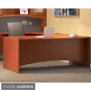 Mayline Brighton Series Rectangular Laminate Wood Desk 60