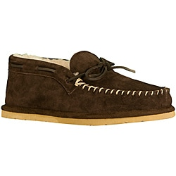 Lugz Men's 'Dudley' Root Beer Suede Slipper