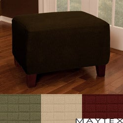 Reeves Stretch 1-piece Ottoman Slipcover