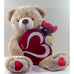 'Love and Chocolate' Valentine's Day Teddy Bear Gift