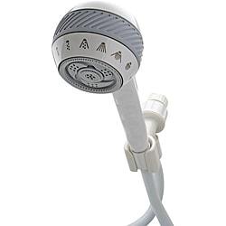 Waterpik Power Spray White Handheld 8-Mode Showerhead