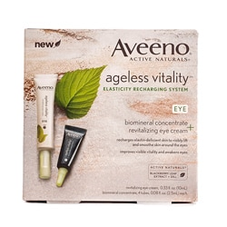 Aveeno Ageless Vitality Elasticity Recharging Eye Cream (Pack of 4)