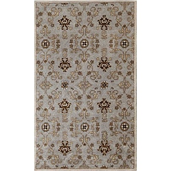 Hand-tufted Ashwood/ Ivory Wool Rug (9'6 x 13'6)