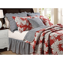 'Lorraine' 5-piece Full/Queen-size Quilt Set