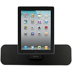 iHome iD28 App-Enhanced Rechargeable Portable Speaker System With FM Stereo And iPad/iPod/iPhone Dock