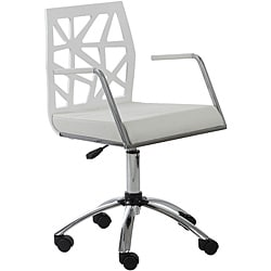Sophia White Office Chair
