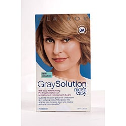 Clairol gray solution nice 39 n easy 8a medium ash blonde pack of 4 overstock shopping big - Easy hair care solutions ...