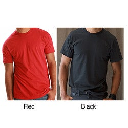 Tultex Men's Tear-away Tag Ringspun Cotton Tee